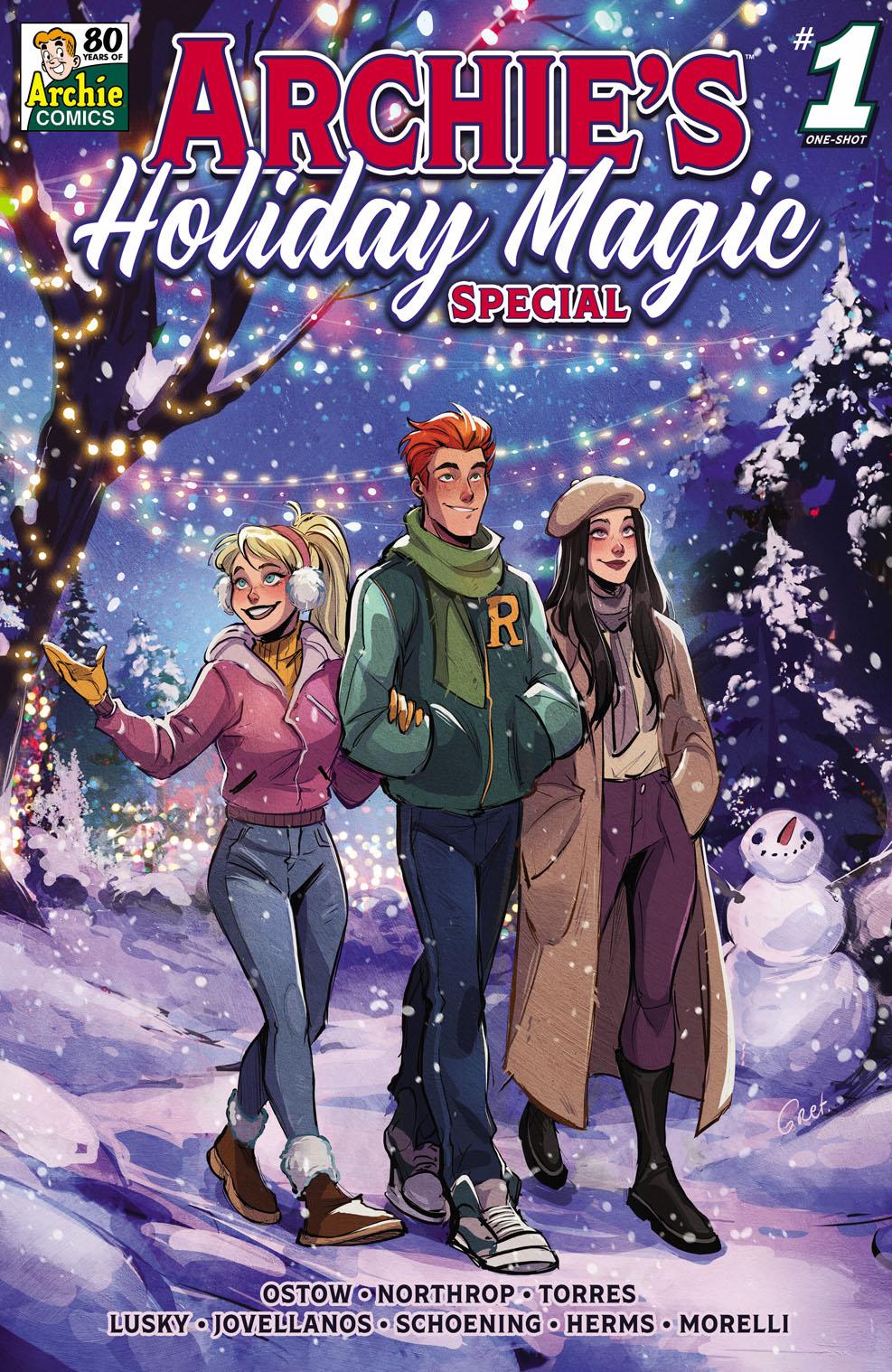 La magia navideña de Archie