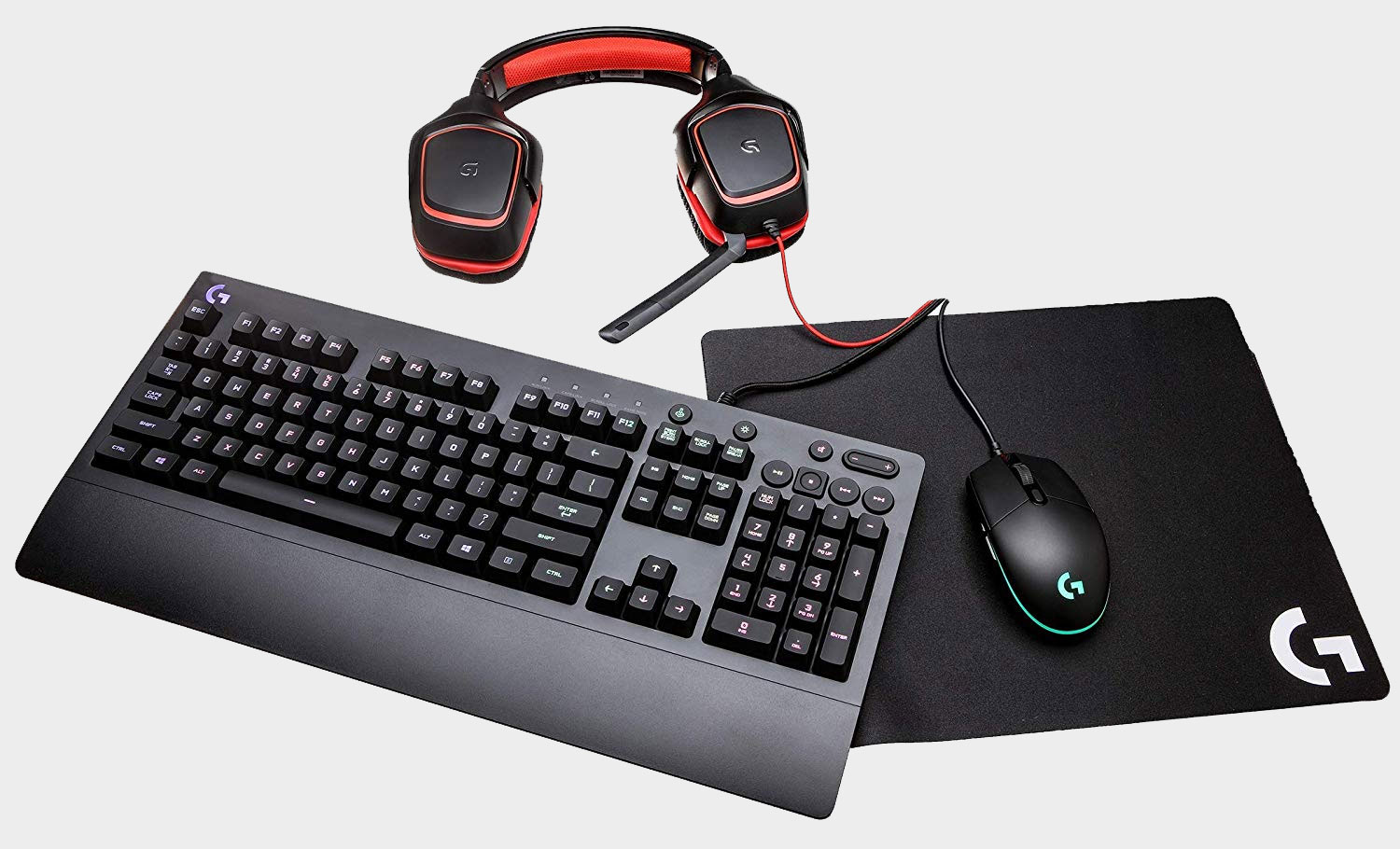 A bunch of Logitech gaming peripherals are on sale at Amazon today