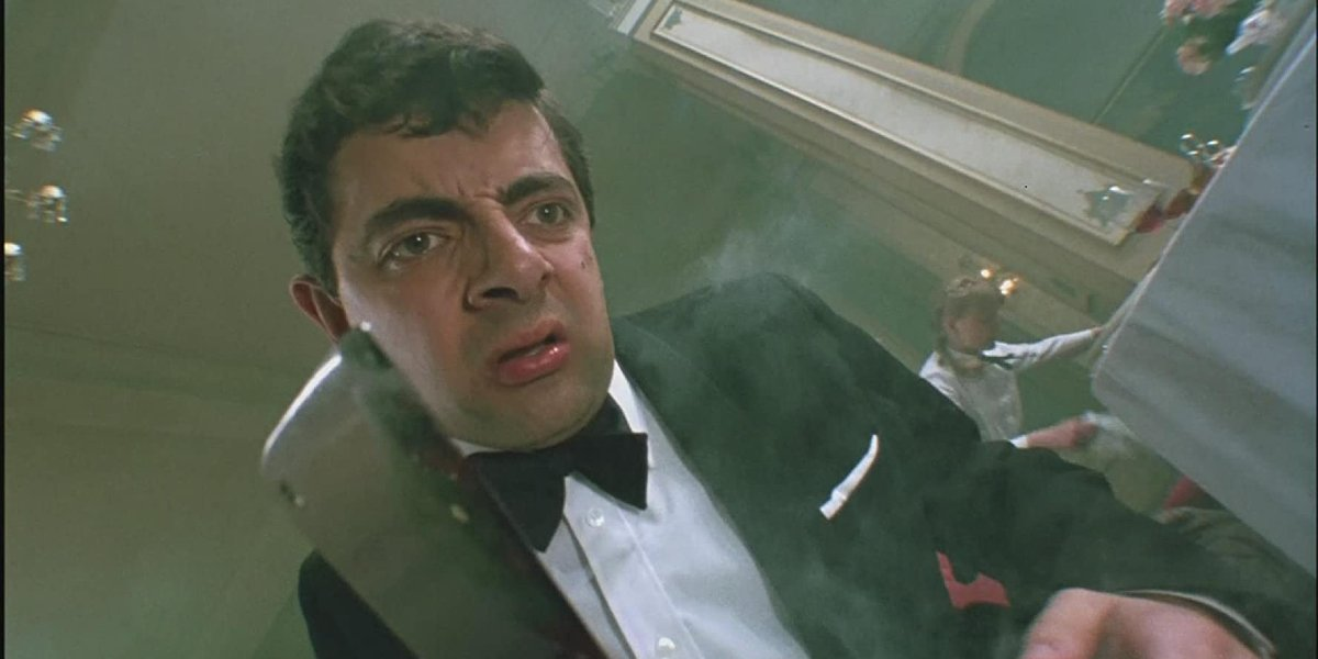 Rowan Atkinson in The Witches
