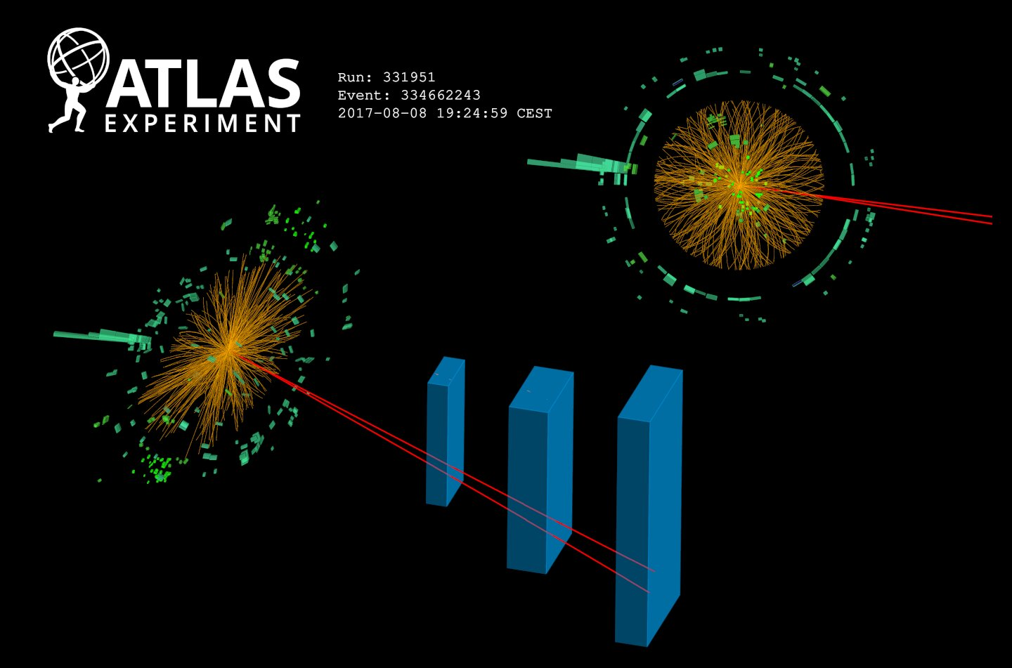 In a new study, researchers working with the Large Hadron Collider found the first evidence for a rare Higgs boson decay.