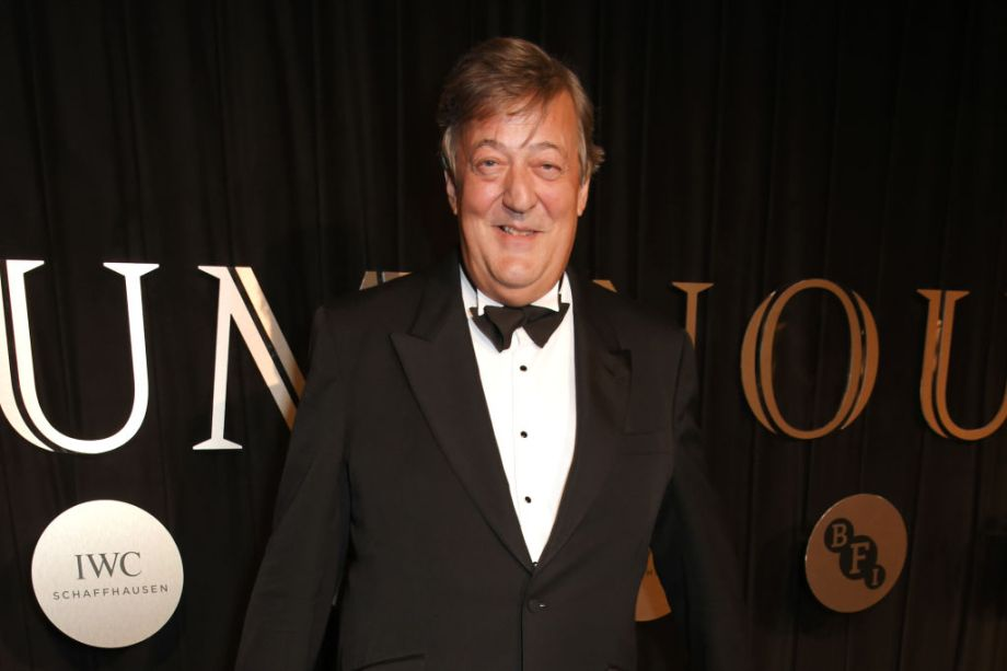 Stephen Fry who will front a new Harry Potter documntary for BBC1