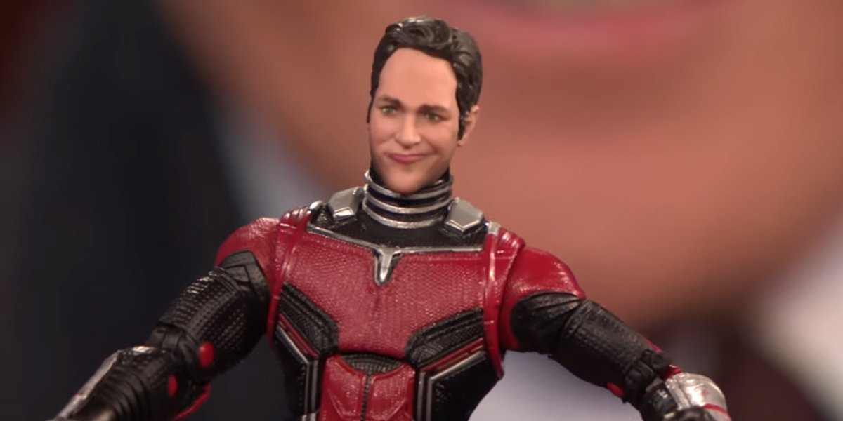 Ant-Man action figure shown on Conan