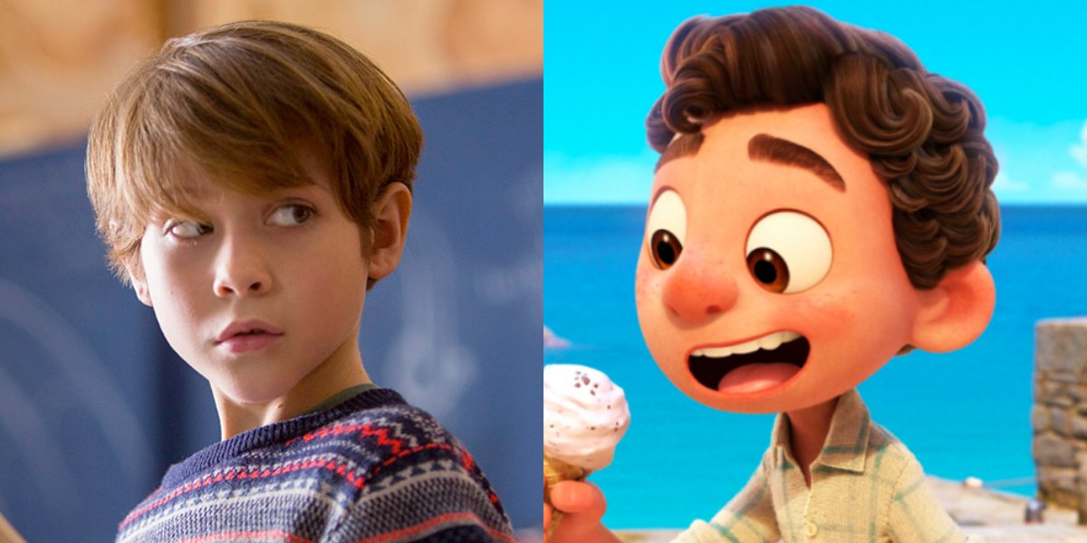 Jacob Tremblay and Luca from Luca