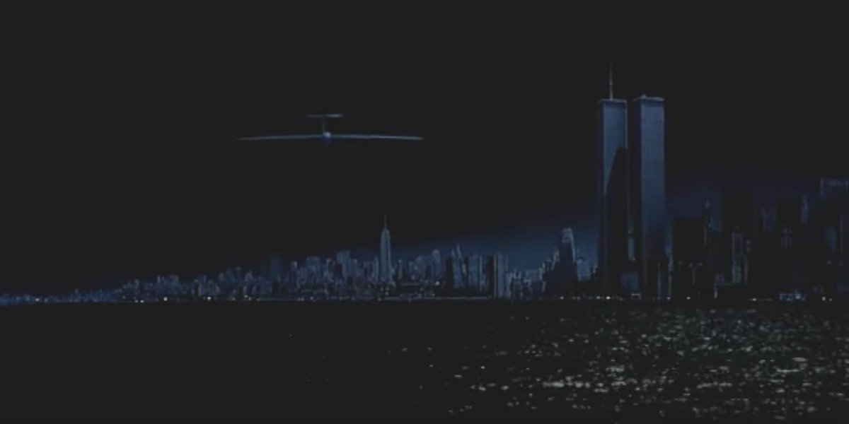 A matte painting from Escape From New York