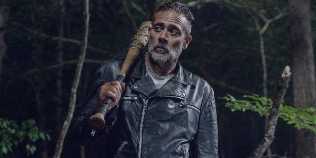 Jeffrey Dean Morgan as Negan on The Walking Dead.
