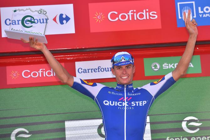 Enric Mas (Quick-Step Floors) was most combative on stage 6 at the Vuelta