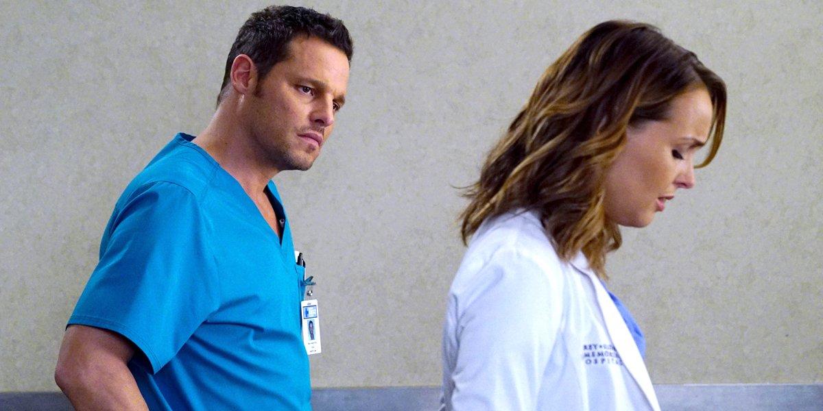 Grey's Anatomy Justin Chambers Alex Karev Camilla Luddington Jo Wilson Karev ABC