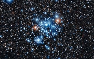 NGC 3766 Star Cluster 1920