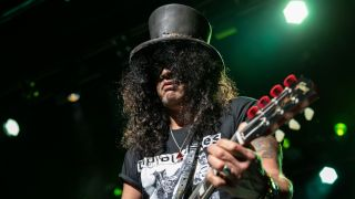 Slash performs at The Warfield Theater on July 15, 2019 in San Francisco, California