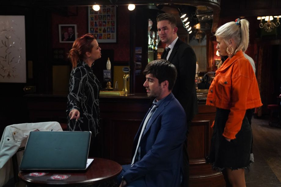 EastEnders Whitney Dean confronts Callum