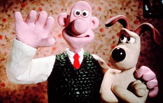 Gold is showing four Wallace & Gromit's adventures today