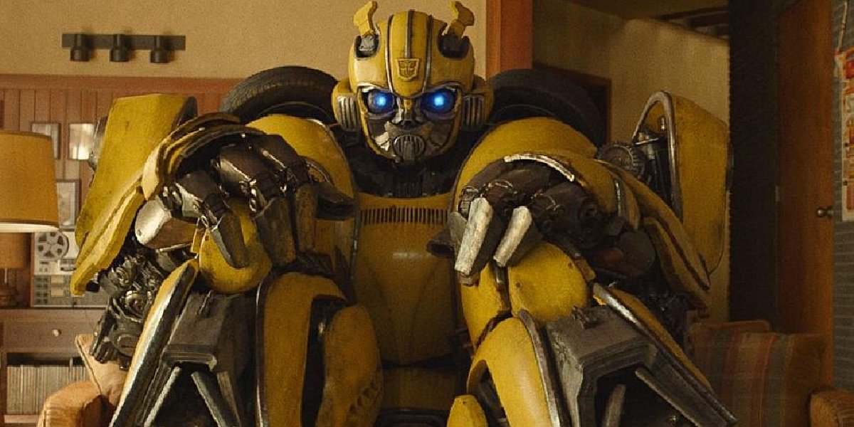 Dylan O'Brien as Bumblebee in the titular movie, Bumblebee.