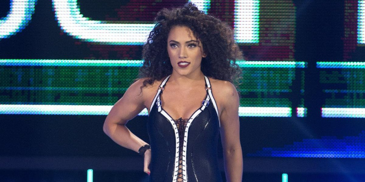 Vanessa Borne in NXT