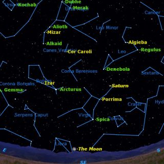 How to See Twin Stars in the Spring Night Sky