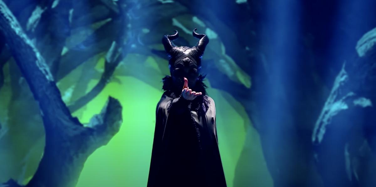 chishell stause maleficent dancing with the stars villains night screenshot