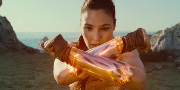 Wonder Woman Gal Gadot Diana glowing braces