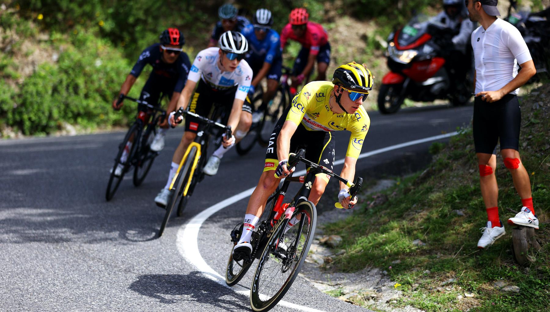 Tadej Pogačar keeps yellow again