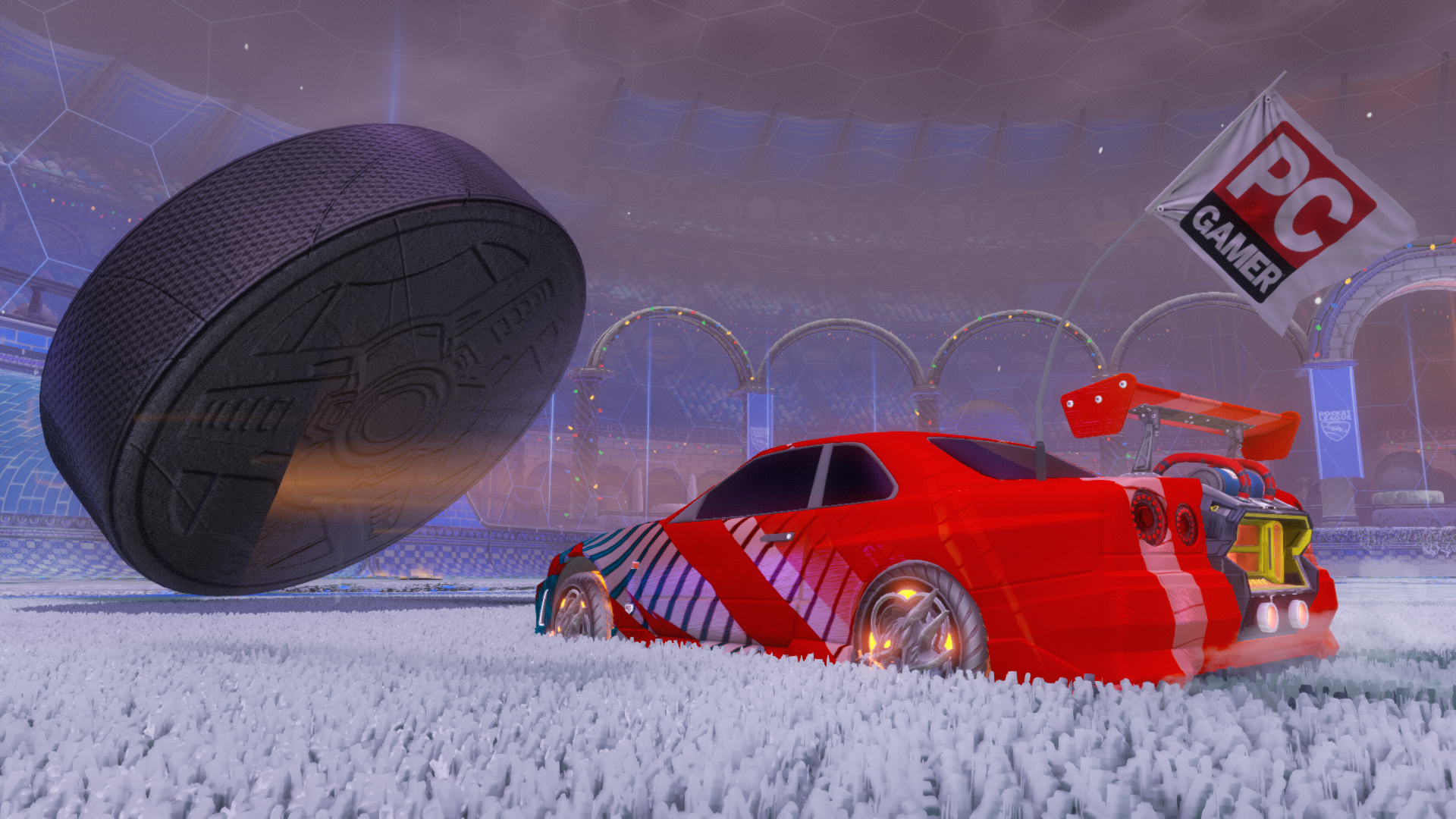 Rocket League may get competitive Snow Day and Hoops | PC Gamer