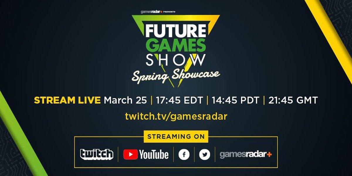 Future Games Show Spring Showcase Logo