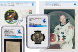 neil armstrong family heritage auction