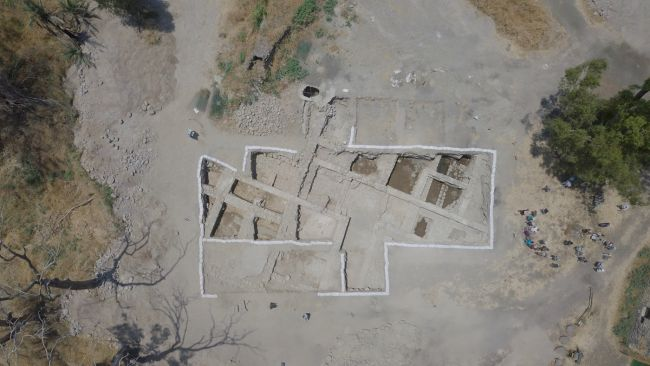 The excavations at Beit Habek beside the Sea of Galilee in northern Israel have unearthed a Byzantine-age church, said to be built above the house of Jesus' apostles Peter and Andrew.