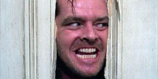 Jack Nicholson in _The Shining_