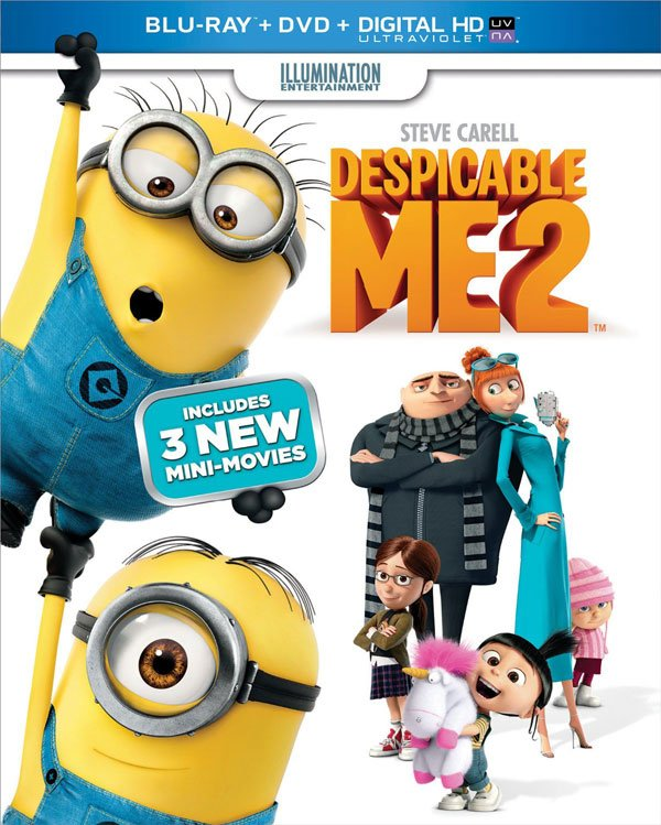 Despicable Me 2 box