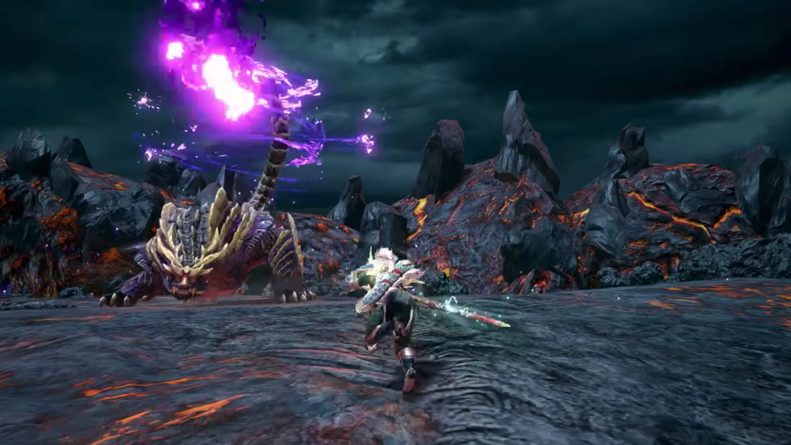 best Nintendo Switch games: Monster Hunter Rise