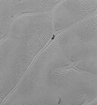 X Marks the Spot on Pluto's Icy Plains
