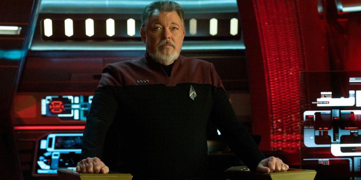 Jonathan Frakes as Adm. William Riker in Star Trek: Picard
