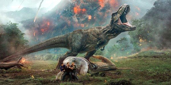 Jurassic World Fallen Kingdom big T-Rex roar