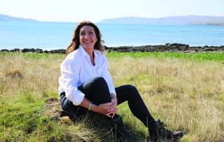 After her sun-soaked jaunt around the Caribbean with 4,300 other passengers, a more intimate style of floating home is on the horizon for Jane McDonald tonight as she heads to Scotland to trya boutique cruise.
