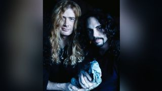 Dave Mustaine and Nick Menza