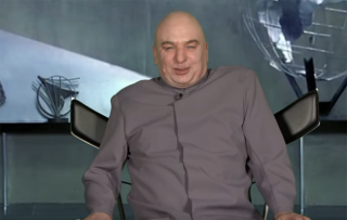 Donald Trump fires Dr Evil! Mike Myers plays villain on US chat show