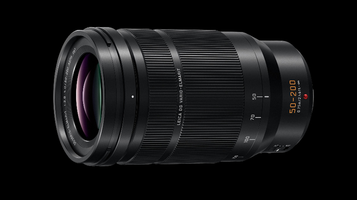Panasonic adds to its premium lens range with the 50-200mm f/2 8-4 0
