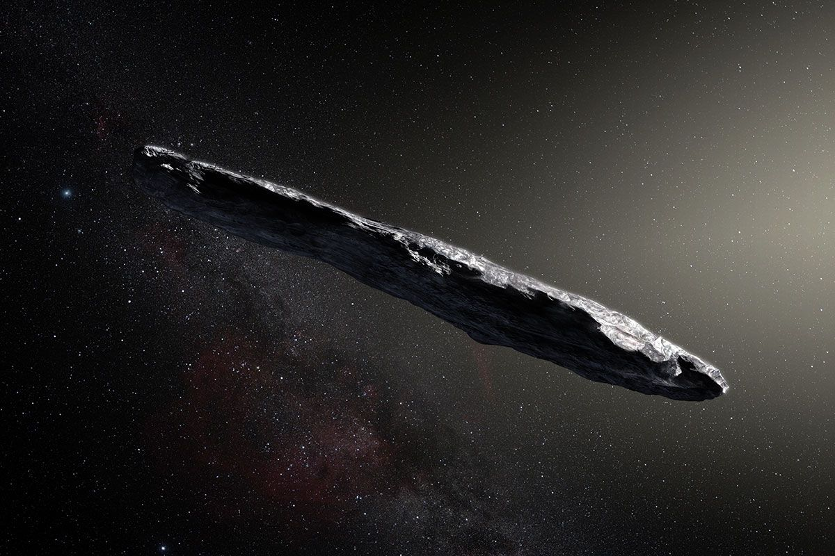 The First Known Interstellar Meteor May Have Hit Earth in 2014
