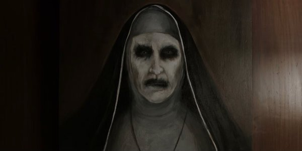 The Nun painting The conjuring 2