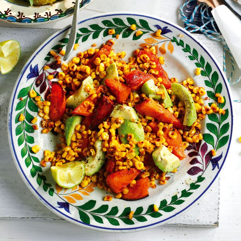 Sweet Potato and Sweetcorn Salad photo