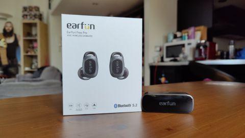 Earfun Free Pro headphones earbuds