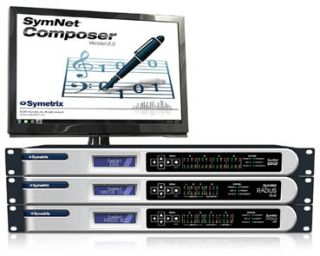 Symetrix Launches Symnet Composer Software Version 2.0