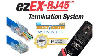 Platinum Tools Shipping ezEX-RJ45 Termination System