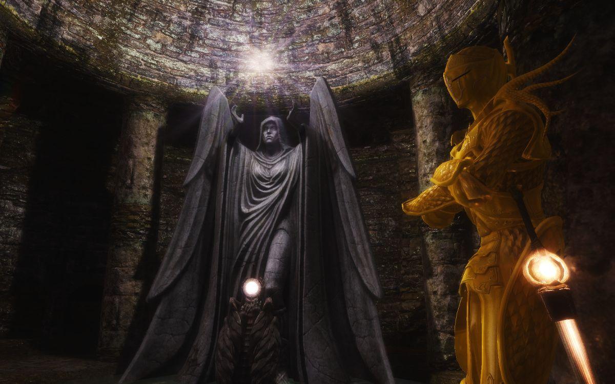 This Skyrim mod brings Dark Souls to Tamriel | PC Gamer