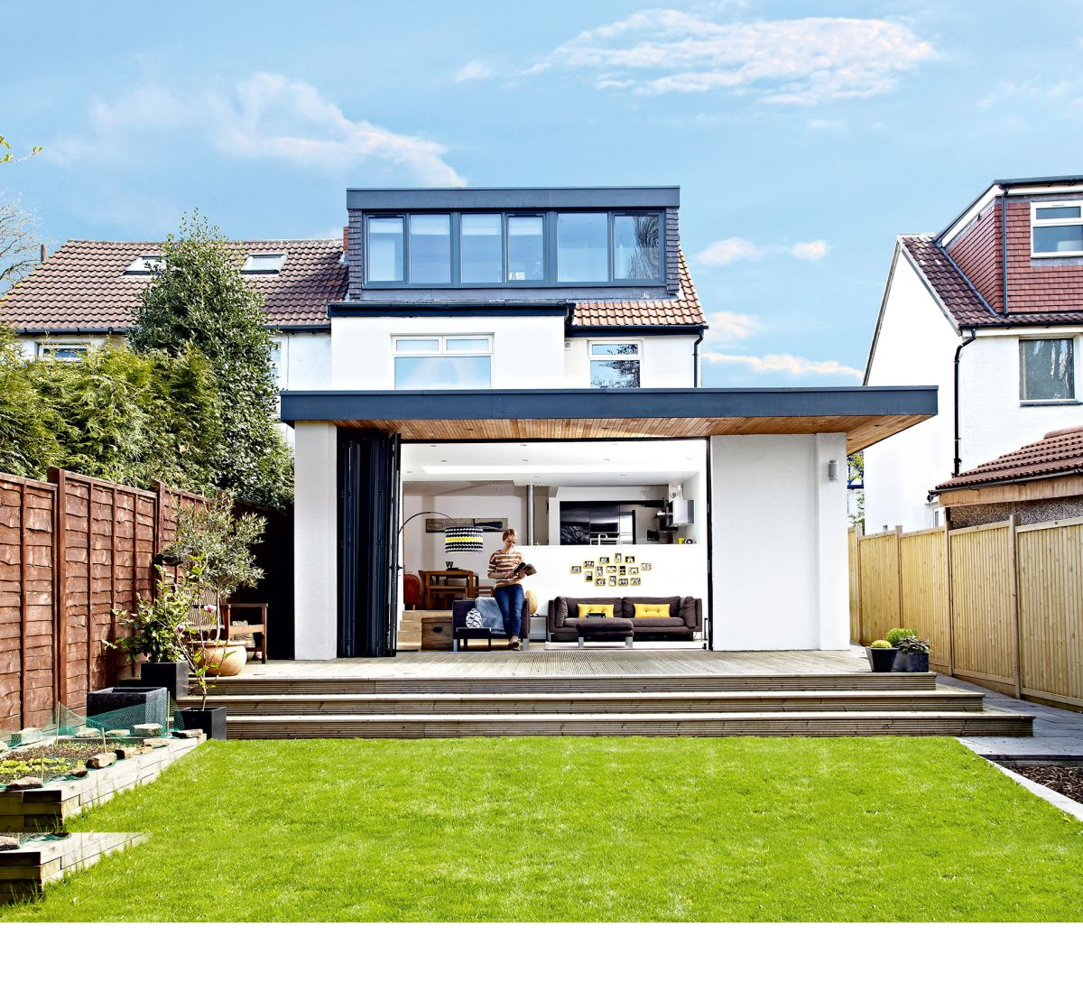 Modern Home Plans With Lofts: Real Home: Gaining Space With A Rear Extension And Loft