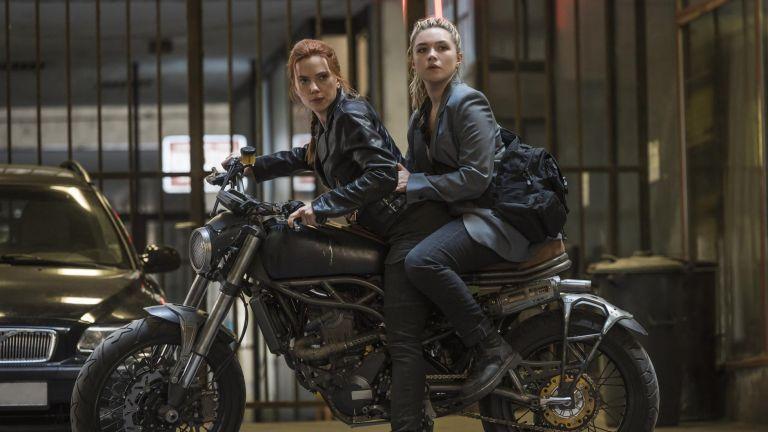 Scarlett Johansson and Florence Pugh starring in Marvel's Black Widow