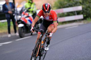 Danish road race champion Amalie Dideriksen (Boels Dolmans) at the 2019 Boels Rental Ladies Tour