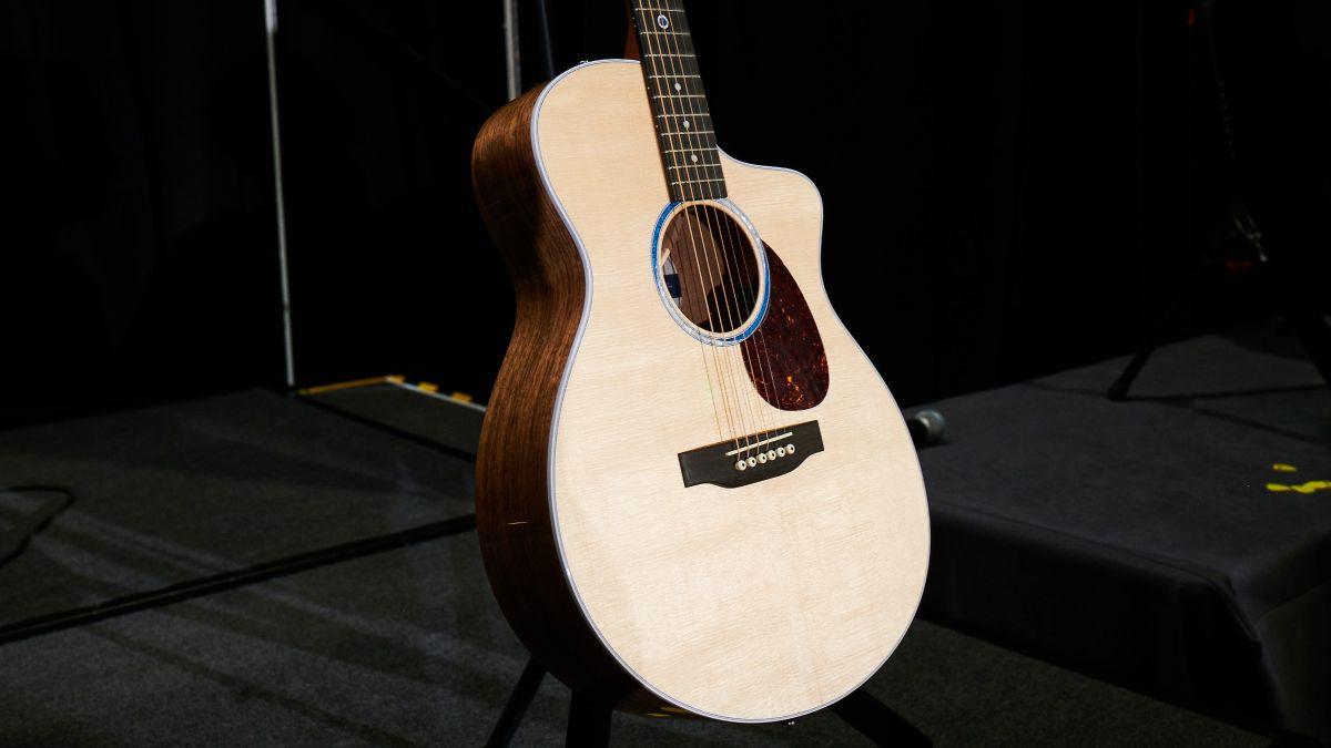 NAMM 2020: Is Martin's new SC-13E acoustic its most progressive guitar ever?