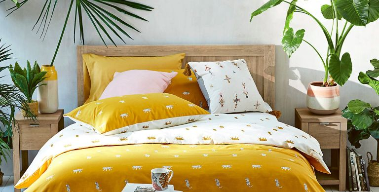 M&S bedding