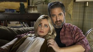"""Ray Romano and Diane in """"Made for Love"""" on HBO Max."""