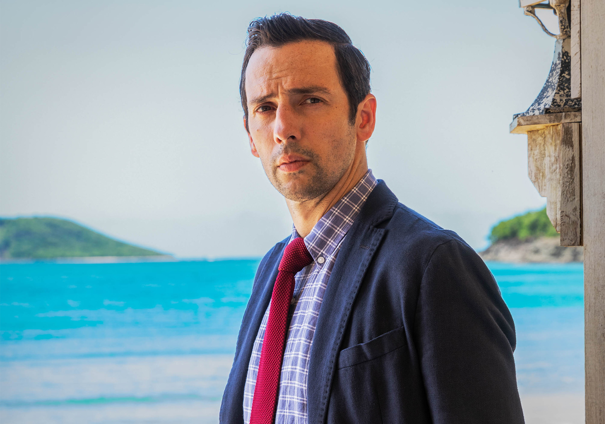 Ralf Little's fiendishly tough first Death in Paradise case revealed at last