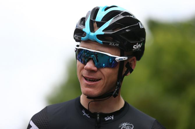 Chris Foome (Team Sky) at RideLondon Classic